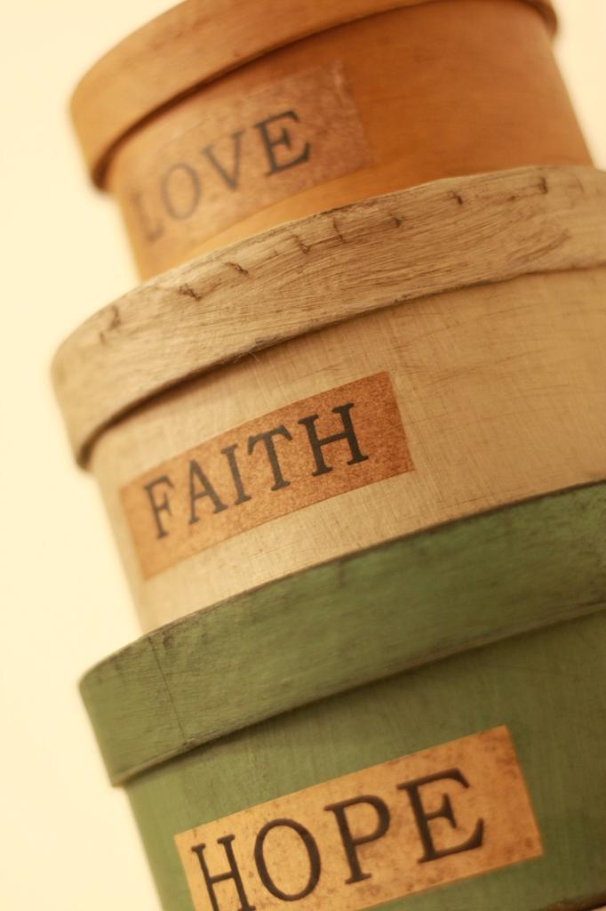 love faith hope