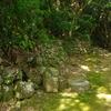古道の石垣