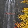紅葉と華厳の滝