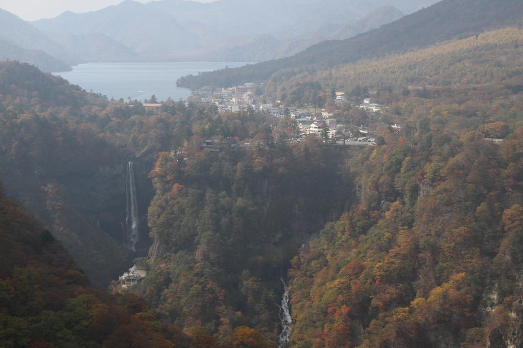 中禅寺湖と華厳の滝 1