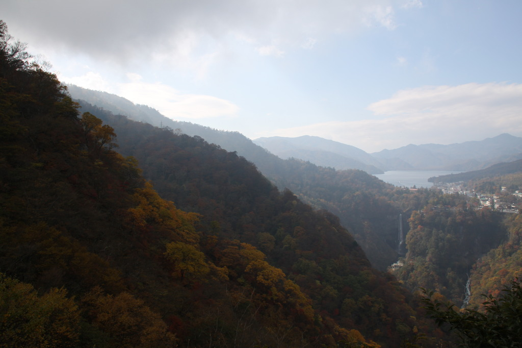 中禅寺湖と華厳の滝 2