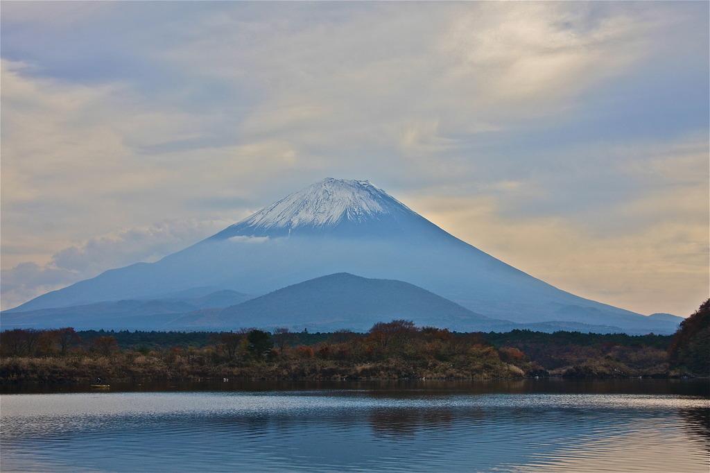 精進湖〜富士〜