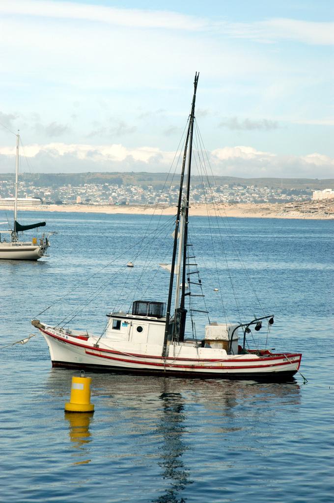 Tiny Fishing Boat