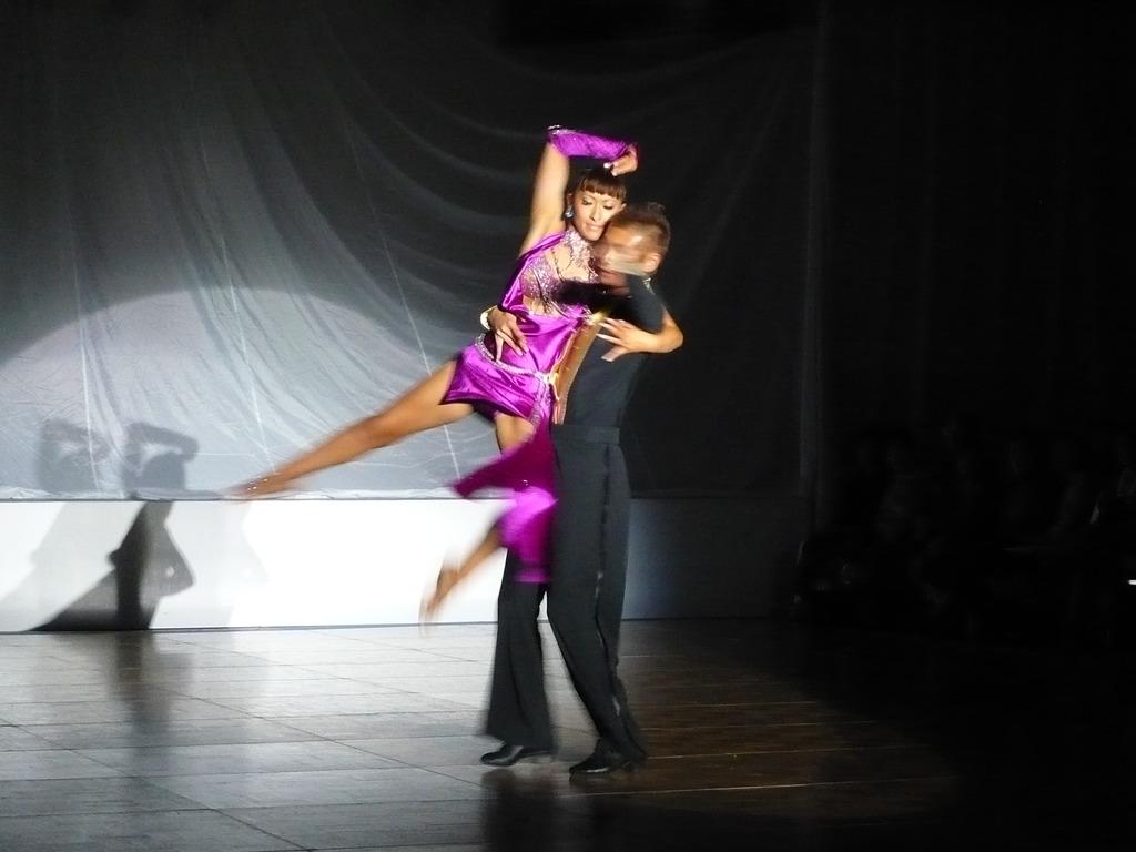 美人先生のダンス