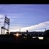 西部多摩川線の黄昏