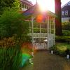 光のベンチ