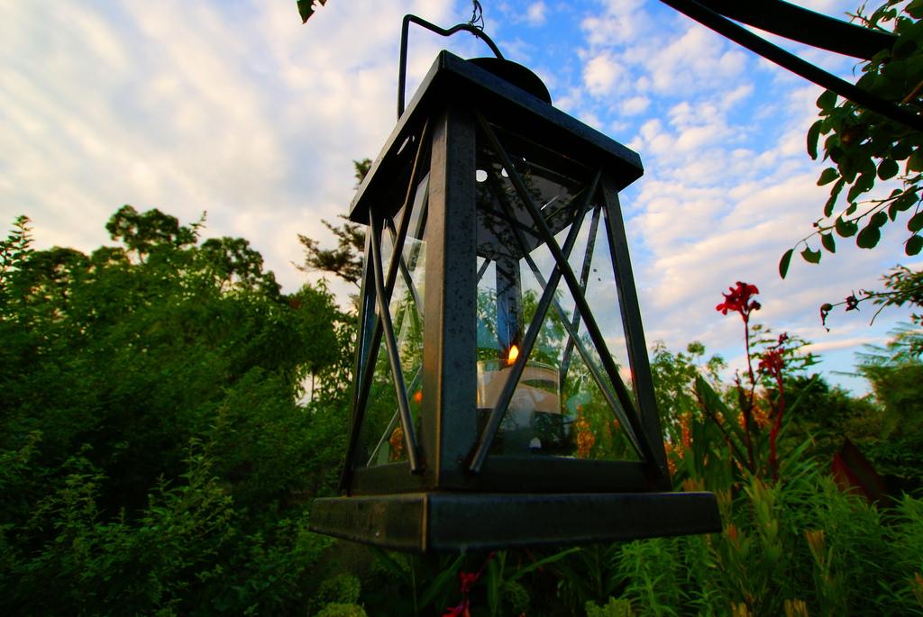 夜を待つランプ