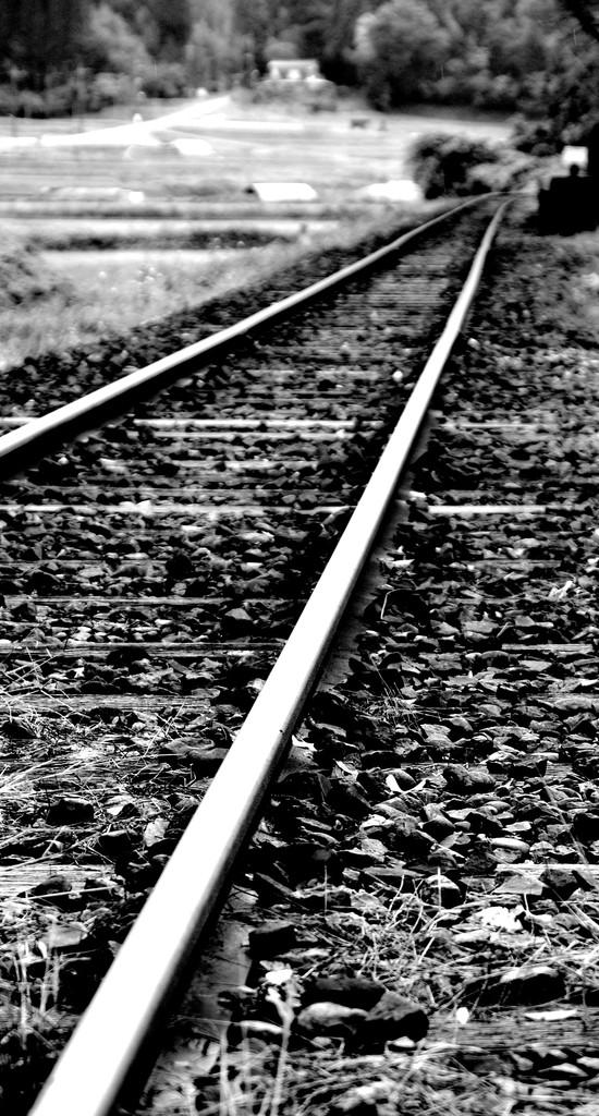 街を繋ぐ線路