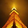 霧の東京タワー