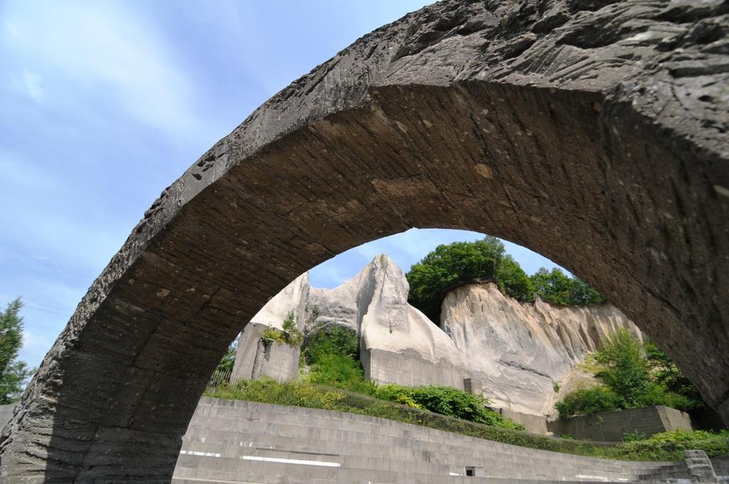石切り場のオブジェ