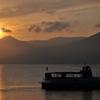 支笏湖の夕焼けⅡ