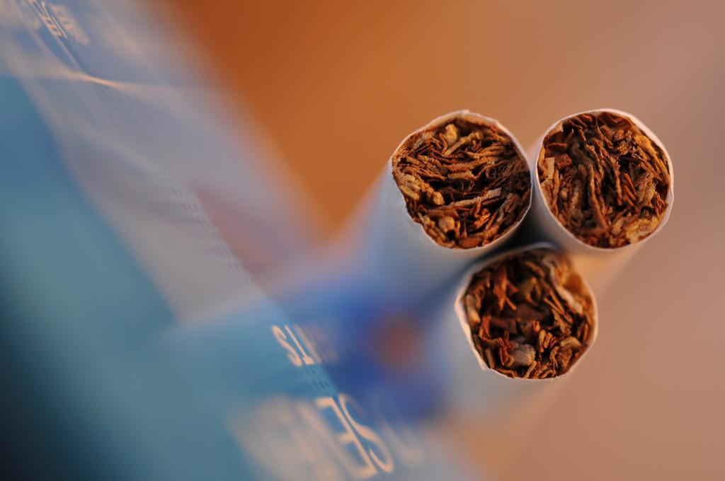 煙草のオブジェ