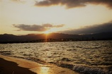 琵琶湖大橋夕景