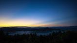 鳥見山にて Blue Gradation
