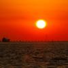 明石海峡夕景
