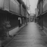 金沢散策 ひがし茶屋街 裏通り