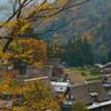 五箇山の秋景