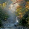 姥ヶ滝の秋景色