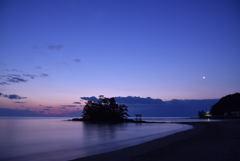 恋路海岸 夜明け前