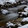 雪化粧  ~ 渓流