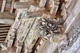 榛名神社の山門の彫り物