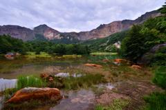 磐梯山の銅沼