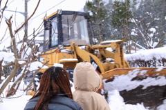 冬の風物詩 除雪車