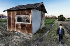 掘っ建て小屋