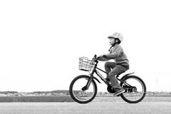 農道サイクリング
