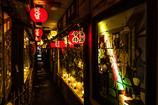 道頓堀の楽器店