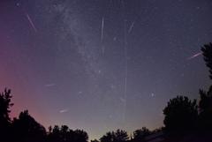 2016.8.13ペルセウス座流星群