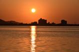 東郷湖夕暮れ