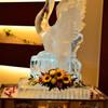 スワン(氷彫刻)