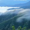 奥只見湖の雲竜