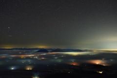 天からの夜景