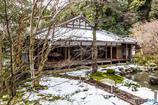 蓮華寺書院の雪景