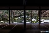 残雪の蓮華寺