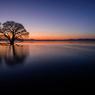 琵琶湖・夕景