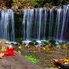 白糸の滝 秋景3