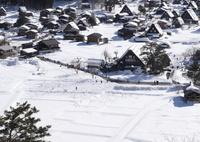 CANON Canon EOS 6Dで撮影した(白川郷雪景色)の写真(画像)