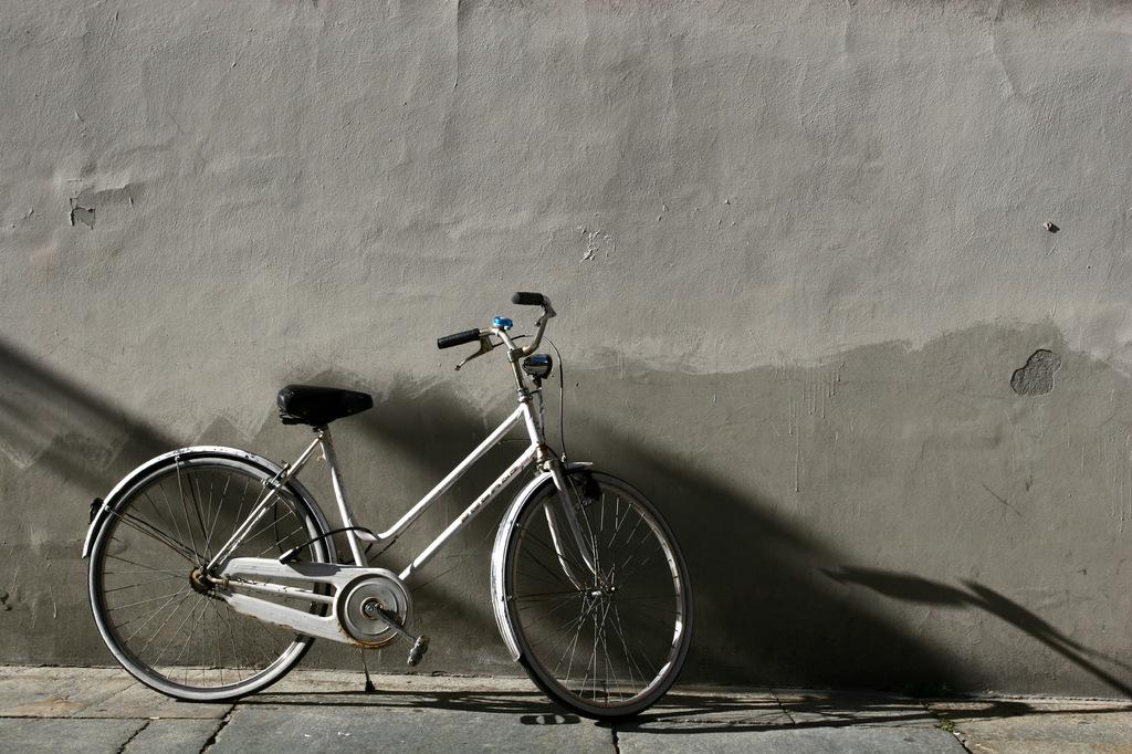 待ちぼうけの自転車