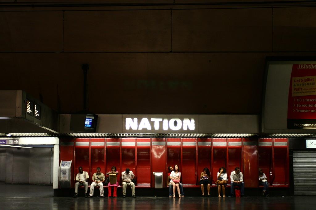 Nation, Paris, FR