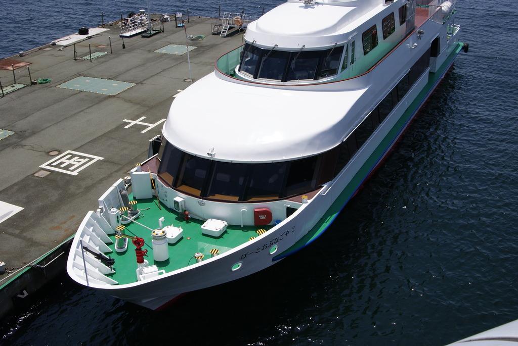 手軽な船旅を!