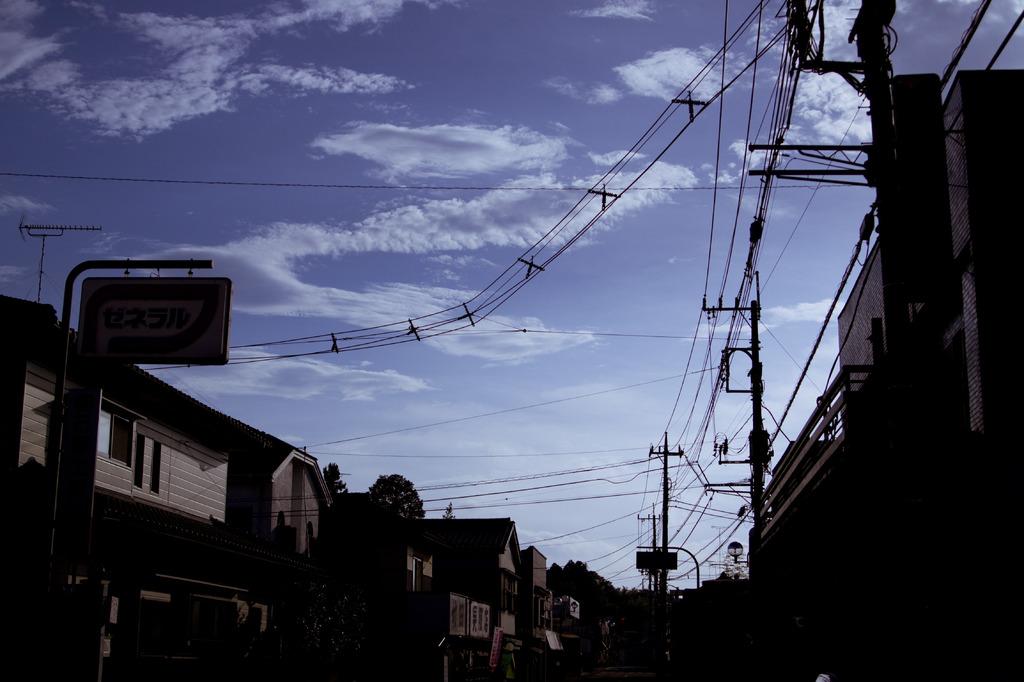 十字架電線