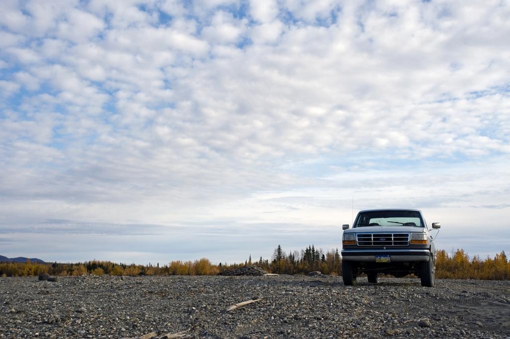 アラスカの空