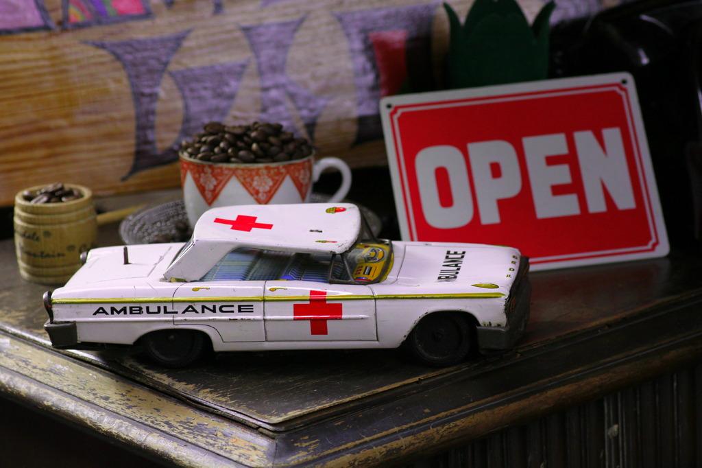救急車!?