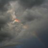 天からの虹