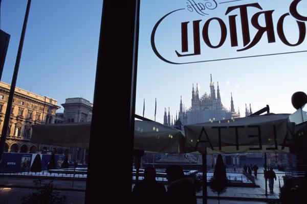 ミラノの朝