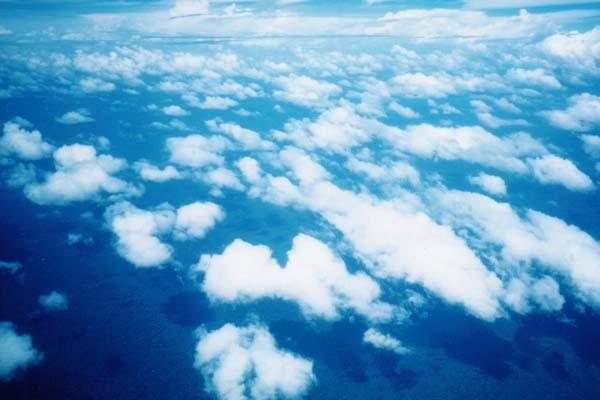 南米の空と雲