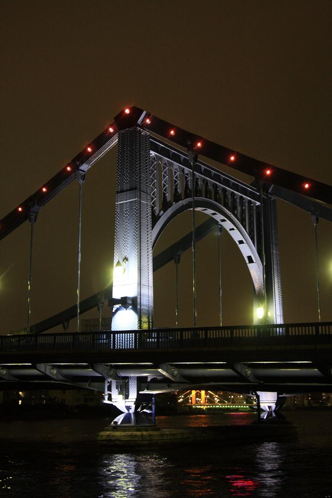 清洲橋の夜景①